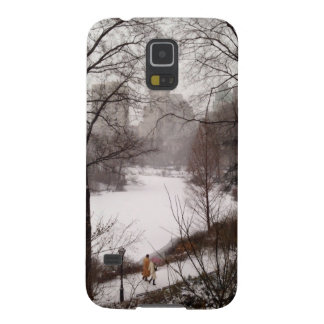 A Walk Around The Pond On A Winter Day Galaxy S5 Cover