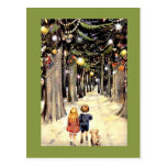A Walk Down Christmas Memory Lane Postcards