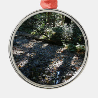 A Walk in Muir Woods Silver-Colored Round Ornament