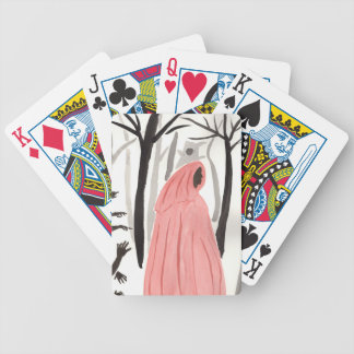 A Walk In The Creepy Forest Bicycle Playing Cards