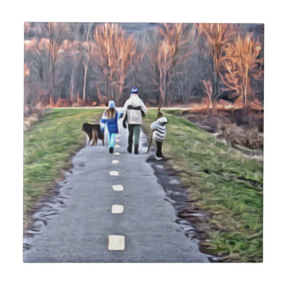A walk in the Park Tile