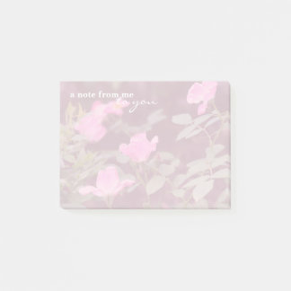 A Walk in the Rose Garden Post-it Notes