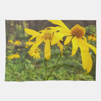 A Walk in the Woods Wildflower Kitchen Towel
