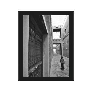 A Walk Through Al Murabba Palace Canvas Print