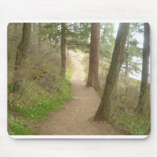 A Walk Through the Forest Mouse Pad