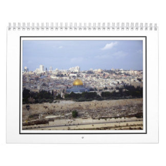 A Walkabout in Jerusalem - The Old City Wall Calendars