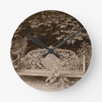 A Wall Clock with an Old Fashioned Look