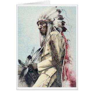A Warrior's Legacy Fine Art Card