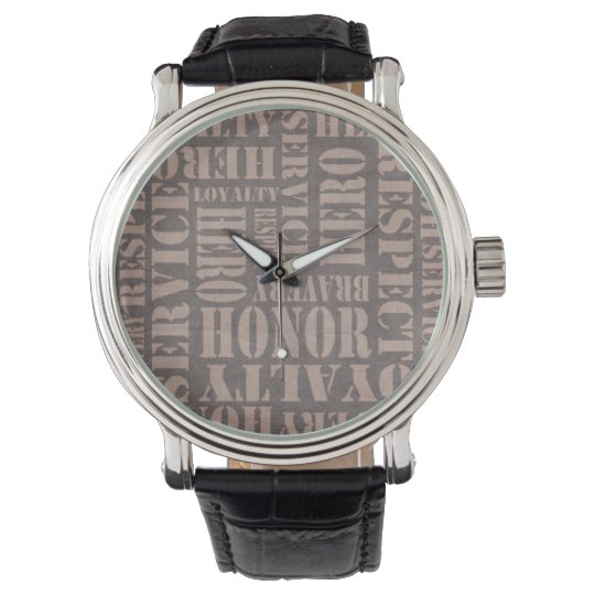 A watch for your military hero