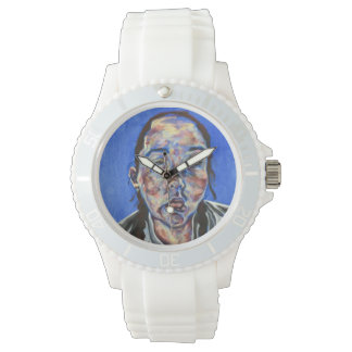 A watch with a face as the face!