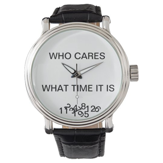 A Watch With A Twist