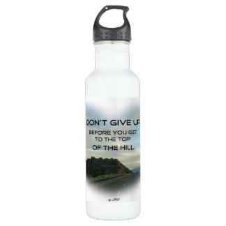 A water bottle to inspire you