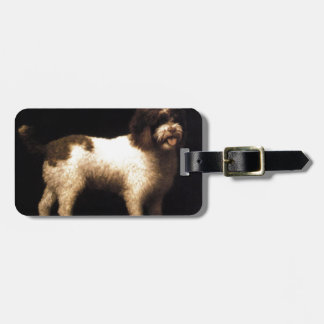 A Water Spaniel by George Stubbs Luggage Tag
