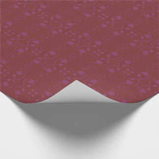 A Wave Of Flowers Wrapping Paper