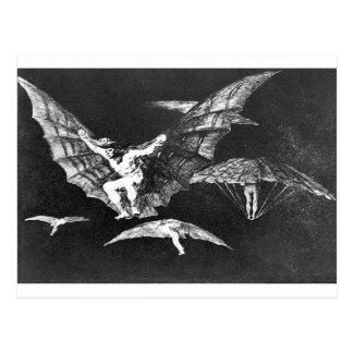 A way of flying by Francisco Goya Postcard