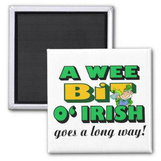 A Wee Bit Irish Magnet