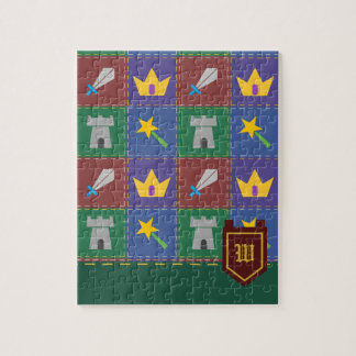 A Wee One's Fantasy Quilt Puzzle