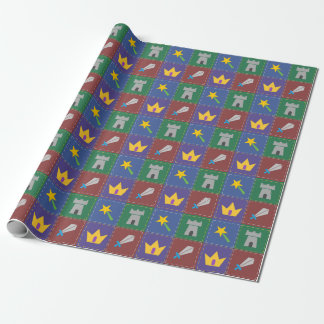 A Wee One's Fantasy Quilt Wrapping Paper