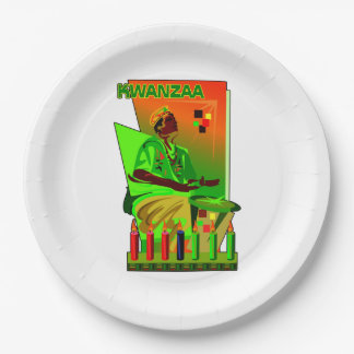 A Week Of Celebration Kwanzaa Party Paper Plates