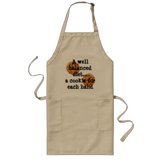 A well balanced diet... Apron