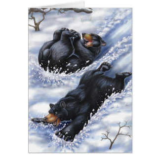 A West Coast Christmas: Bears Card