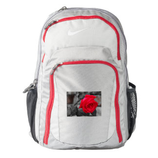A wet rose  on Nike Performance Backpack,