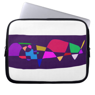 A Whale in the Deep Sea Laptop Sleeve