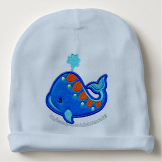 """A Whale of a Tale"" Baby Beanie"