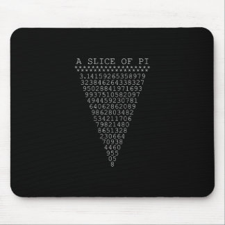 A Whimsical Slice of Pi Mouse Pad