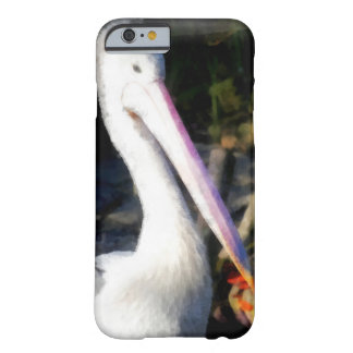 A white bird and its big beak barely there iPhone 6 case