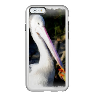 A white bird and its big beak incipio feather® shine iPhone 6 case