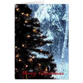 A White Christmas Card