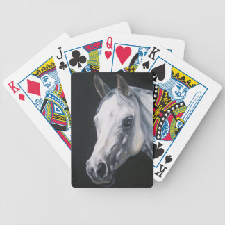 A White Horse Bicycle Playing Cards