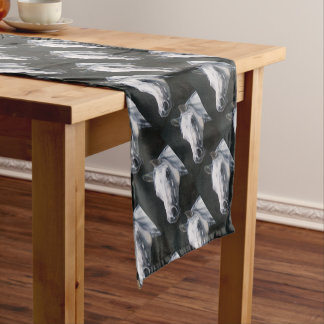 A White Horse Short Table Runner