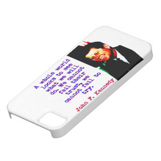 A Whole World Looks - John Kennedy Case For The iPhone 5