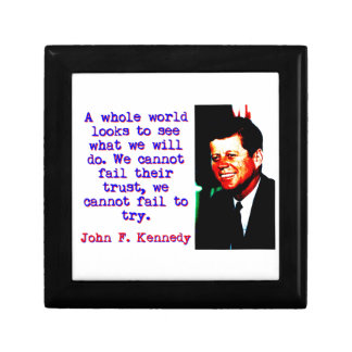 A Whole World Looks - John Kennedy Gift Box