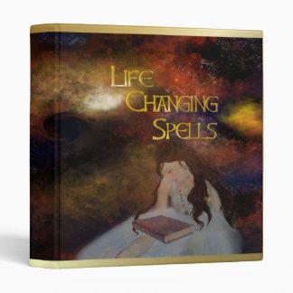 A Wicca Life Vinyl Binder