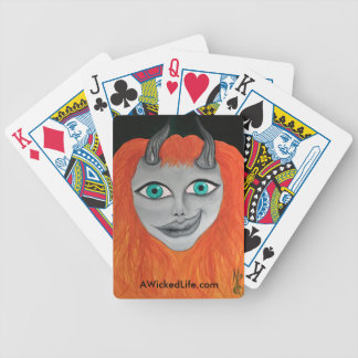 A Wicked Life Playing Cards