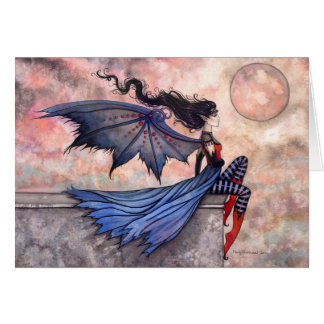 A wicked Wind Gothic Fairy Vampire Card