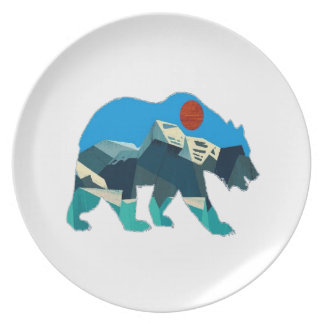 A Wild Journey Plate