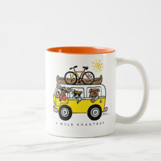 """A Wild Road Trip"" Coffee/Tea Mug by Reneé Womack"