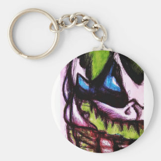 A Will to live Basic Round Button Keychain