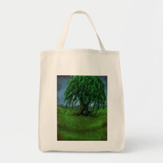 A Willow in a Valley Tote Bag