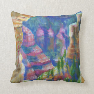 A Window in Time, Southrim Grand Canyon Throw Pillow