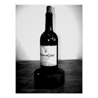 A Wine Bottle Poster
