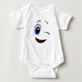 A Wink and A Smile - Baby Jersey Bodysuit