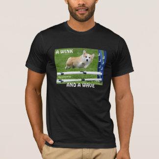 A WINK AND A WAVE AGILITY CORGI T-Shirt