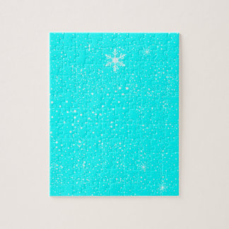 A Winter Background Jigsaw Puzzle