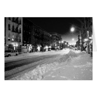 'A Winter Night in the City' Holiday Card - Season