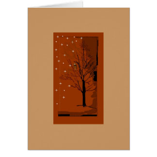A Winter Scene Card